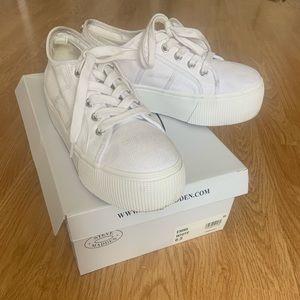 Steve Madden Emmi White Sneakers